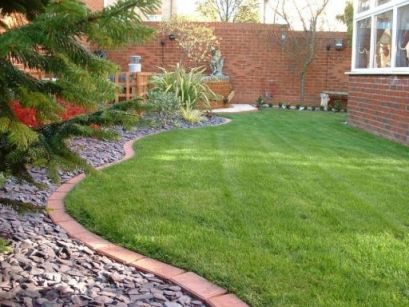 The hideaway nursery landscaping and garden design for Round garden pond designs